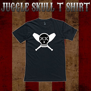 Juggle Skull T Shirt Thumbnail 2018 copy