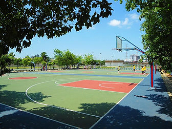 Columbus, Ohio Sport Court Striping