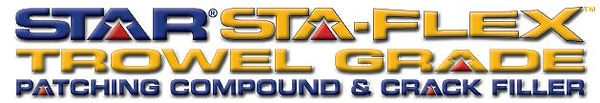 Star Sta-Flex Trowel Grade Crack Filler