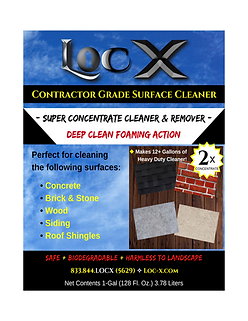 Loc-X Contractor Grade Surface Cleaner