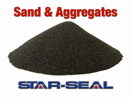 SAND OR AGGREGATE IN SEALCOATINGS
