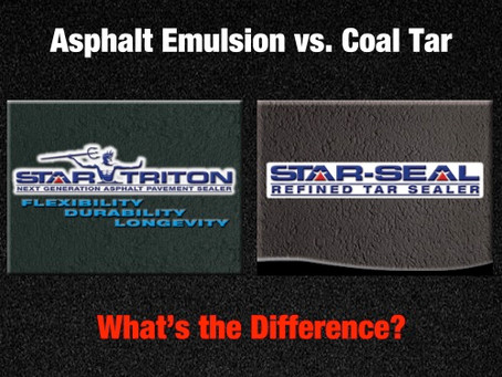 DIFFERENCE BETWEEN ASPHALT & REFINED COAL TAR