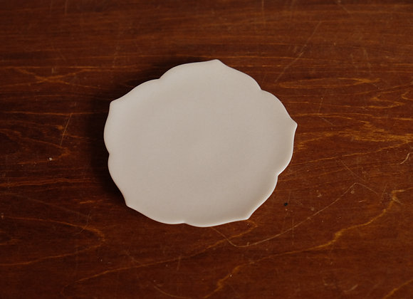 豆皿・白 | white mini plate