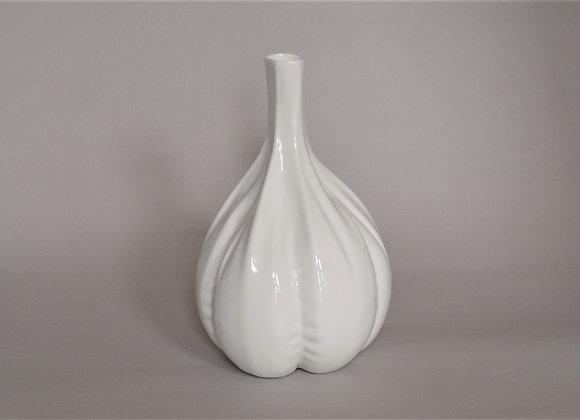 ガーリック白磁花瓶 | vase