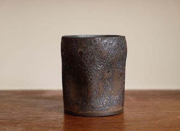 黒釉湯呑   cup