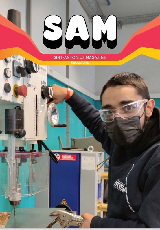 Heter dan kerosine: het nieuwe SAM-magazine