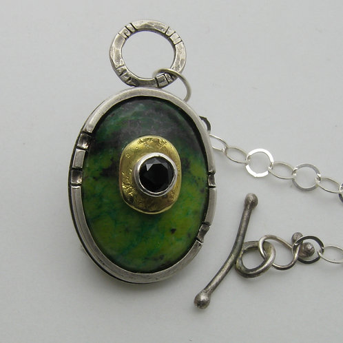 Black and Green Pendant