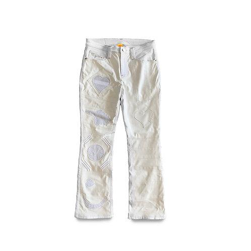 World Boss Jeans (White)