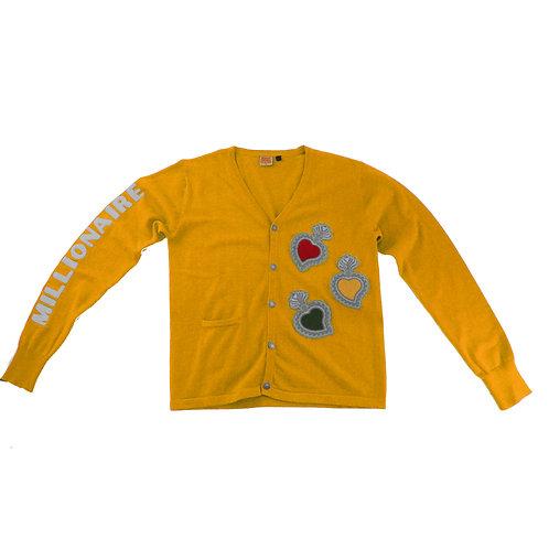 Varsity Cardigan (Gold)
