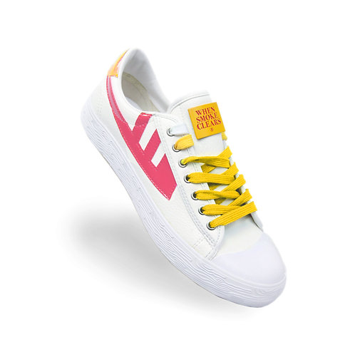 Heart Sneakers (Pink)