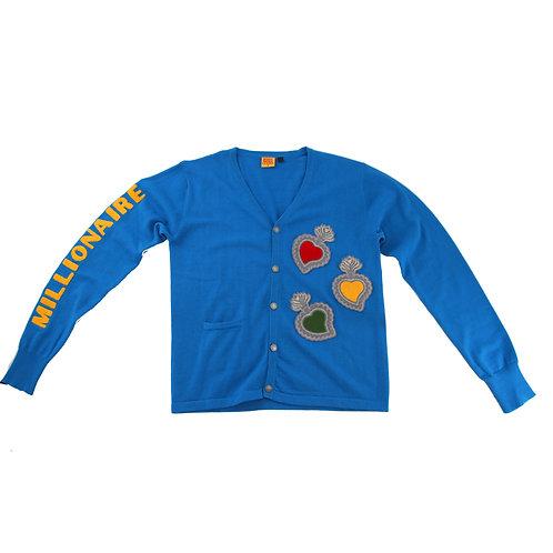 Varsity Cardigan (Blue)