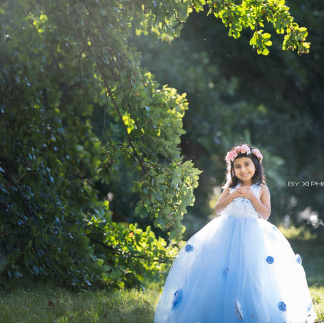 Canberra professional princess photoshoot