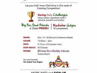 T.I.Kids Autumn Cook-Off:  Friends, Food and FUN!