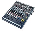 Mesa de mezclas Soundcraft EPM 6 para alquilar