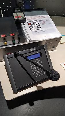 Micrófono de Avisos
