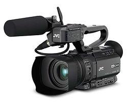 camara JVC HD profesional en alquiler
