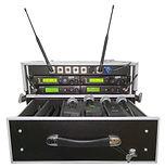 Conjunto de 4 micrófonos inalámbricos para alquilar