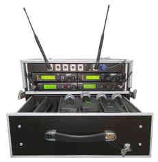 Rack de micròfons sense fils