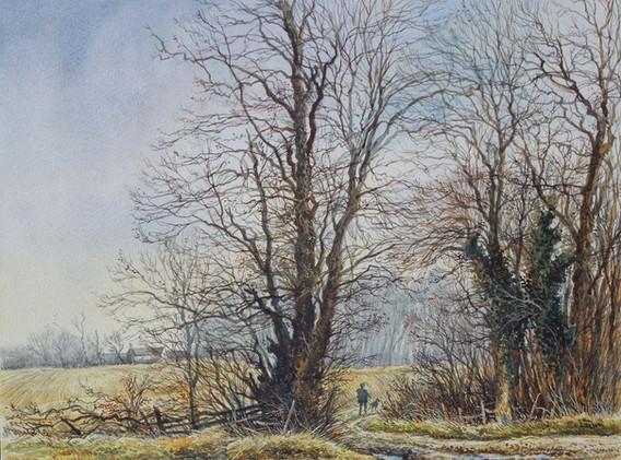 January at Hinwick 30cmx25cm.jpg