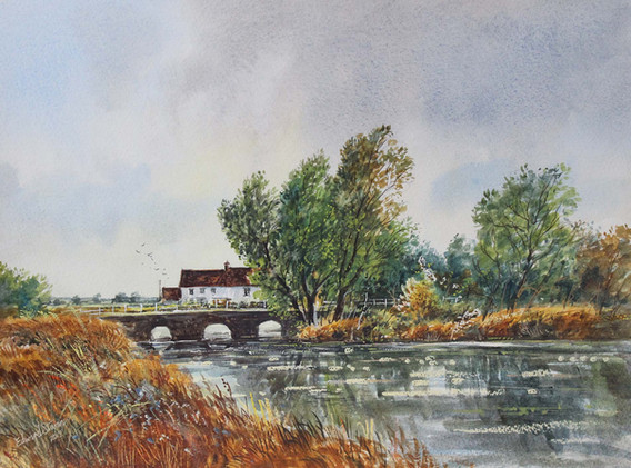 Doddington Mill 33cm x 24cm.jpg