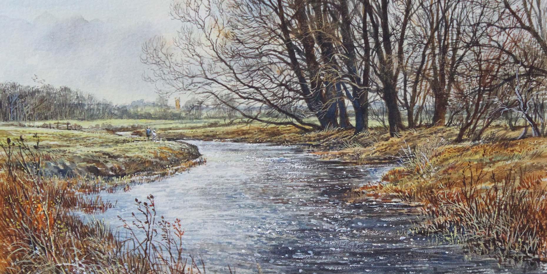 River Nene at Doddington 25cm x 17cm.jpg