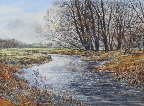 River Nene at Doddington 25cm x 17cm.jpg