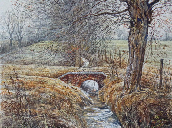 Bridge Over the Brook 35cm x 27cm.jpg