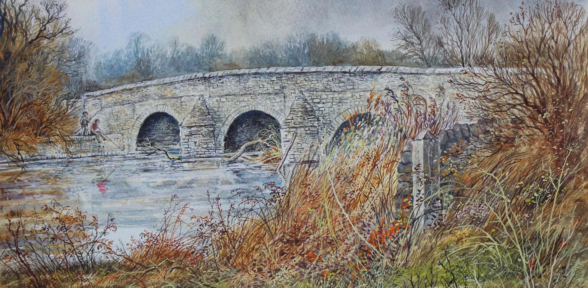 Felmersham Bridge 33cm x 24cm.jpg
