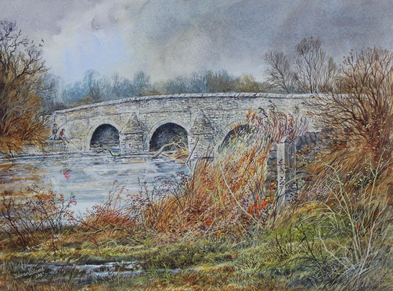 Felmersham Bridge 33cm x 24cm.jpg