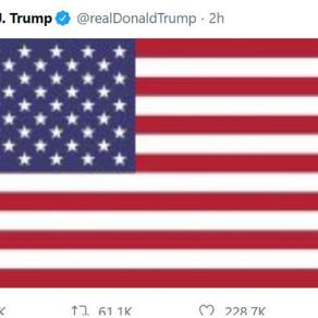 Good Job, Mr. Trump