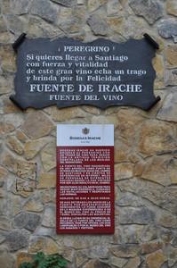"""Rètols a la ""Fuente del vino"", a Irache"" by Rafel Miro is licensed under CC BY-NC-ND 2.0"