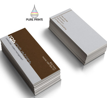 rgs Industries Bcards
