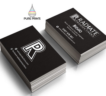 Radiate Productions Bcards