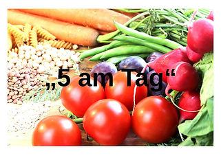 5AmTag.jpg 5 Portionen am Tag | Gemüse und Obst
