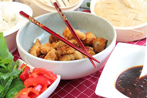 IMG_3300.JPG Asiatische Knusper Hähnchenstreifen mit scharfer Knoblauchsoße