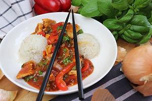 IMG_0457.JPG Hähnchenfiletpfanne mit Chili-Paprika