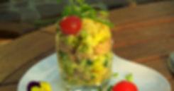 Avocado-Thunfisch im Glas