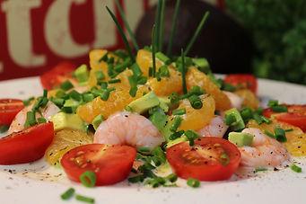 IMG_2440.JPG Fruchtiger Crevetten Avocado Salat