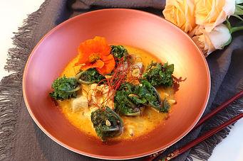 IMG_8799.JPG Kohlröschen mit Hähnchenbrust in Curry Kokosmilch