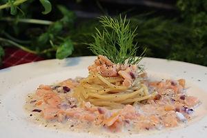 IMG_2799.JPG Lachs-Spaghetti, 2 Personen