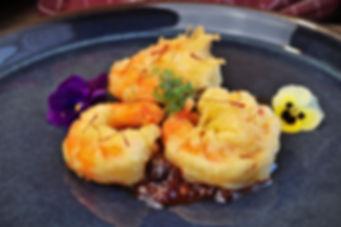 IMG_5815.jpg Garnelen Tempura mit Tomaten Chutney