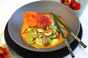 IMG_9919.JPG gesund und köstlich | Hähnchen in Curry Kokosmilch Sauce | Curry Kokosmilch | viel Gemüse