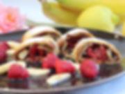 IMG_4033.JPG Gewrappte Früchte, Palatschinken mit Obstsalat