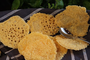Parmesan Chips, 20 Minuten