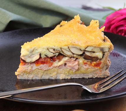 IMG_9267.JPG gesund und köstlich | Buchweizen | Gemüse Quiche | leichte Quiche | Cholesterinarm