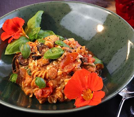 IMG_9662.JPG Aubergine in Tomatensauce | gesund und köstlich | schnelles Essen | gesundes Essen | vegetarisch