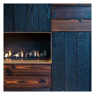 Le bois brûlé, un matériau au défi de l'innovation