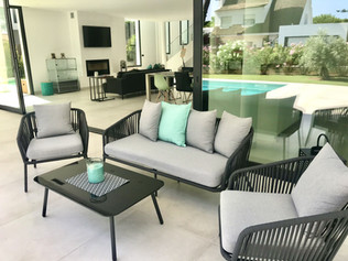 Garden furniture and living room