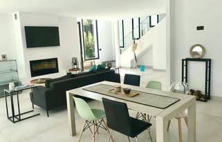 Neues Wohnzimmer und Esszimmer