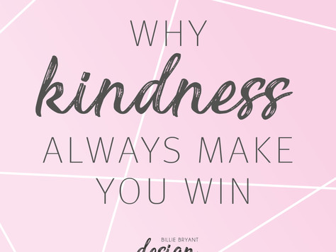 Why kindness always make you win